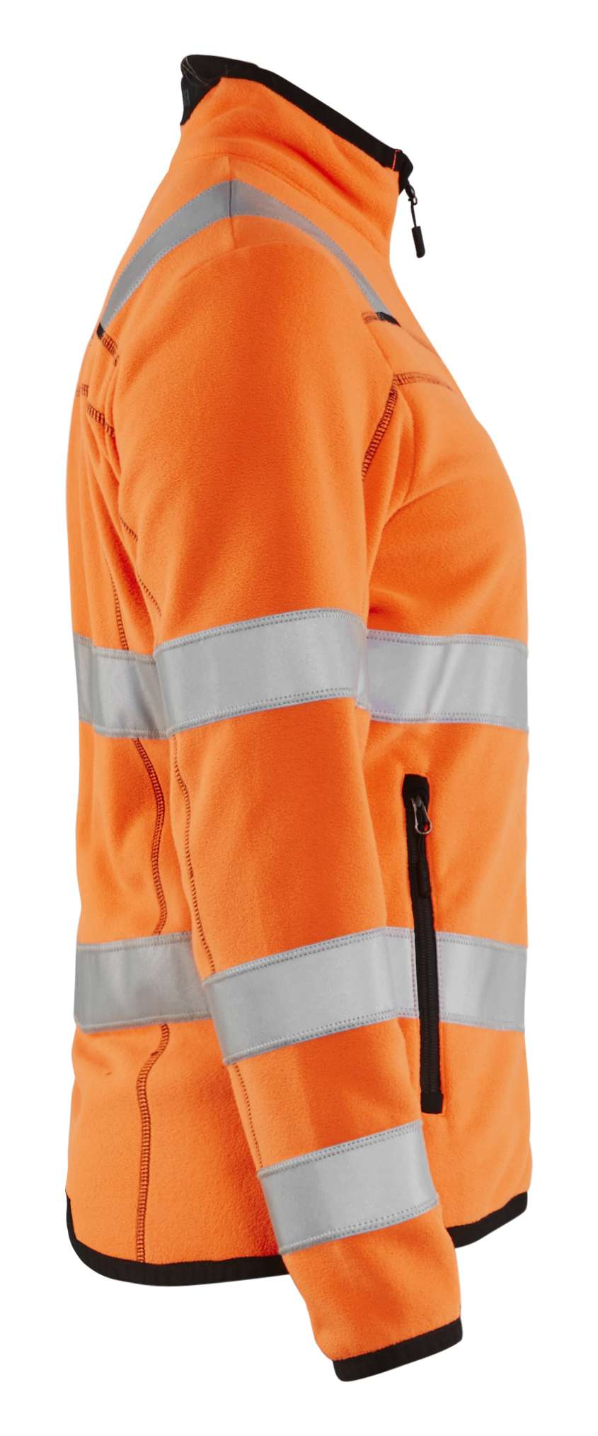 Blaklader Dames fleece vesten 49661010 High Vis fluo-oranje(5300)