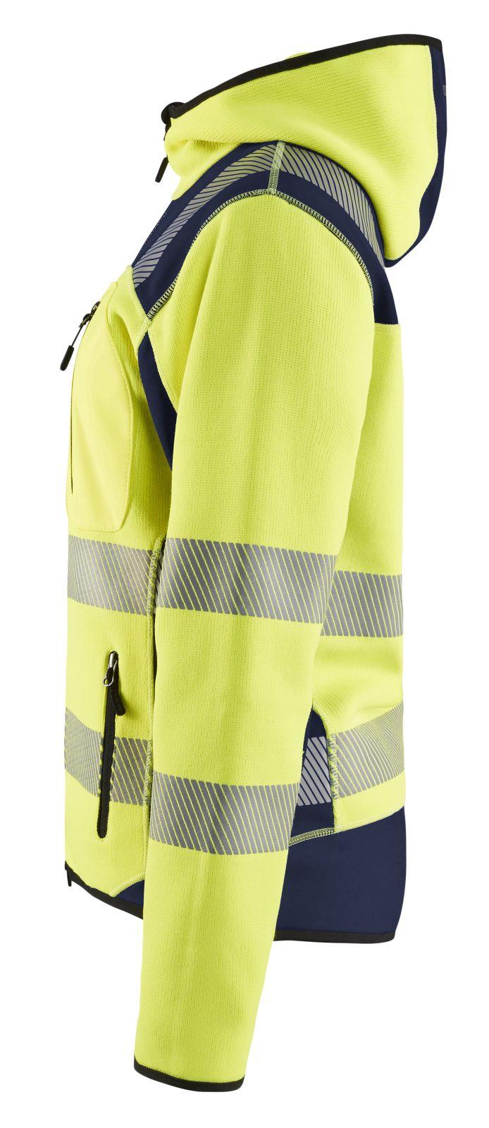 Blaklader Jassen 49672120 High Vis fluo geel-marineblauw(3389)