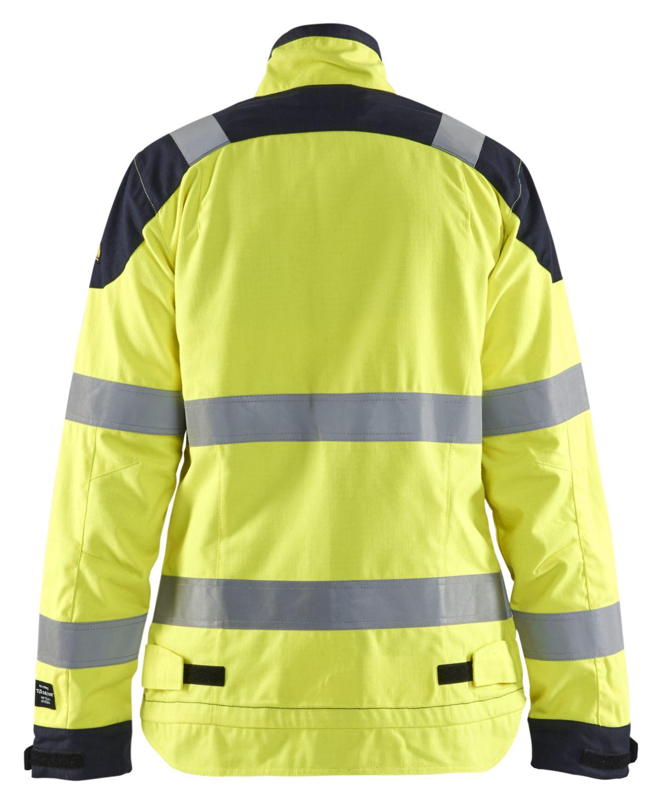 Blaklader Jassen 49691512 Multinorm fluo geel-marineblauw(3389)