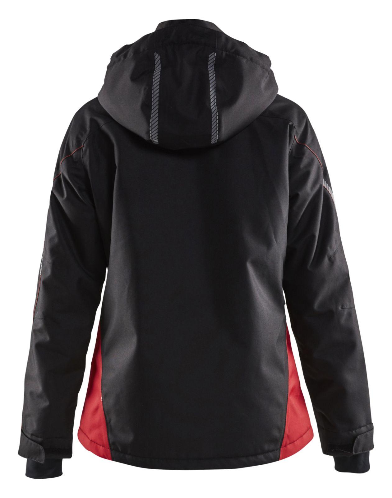 Blaklader Jassen 49721977 zwart-rood(9956)
