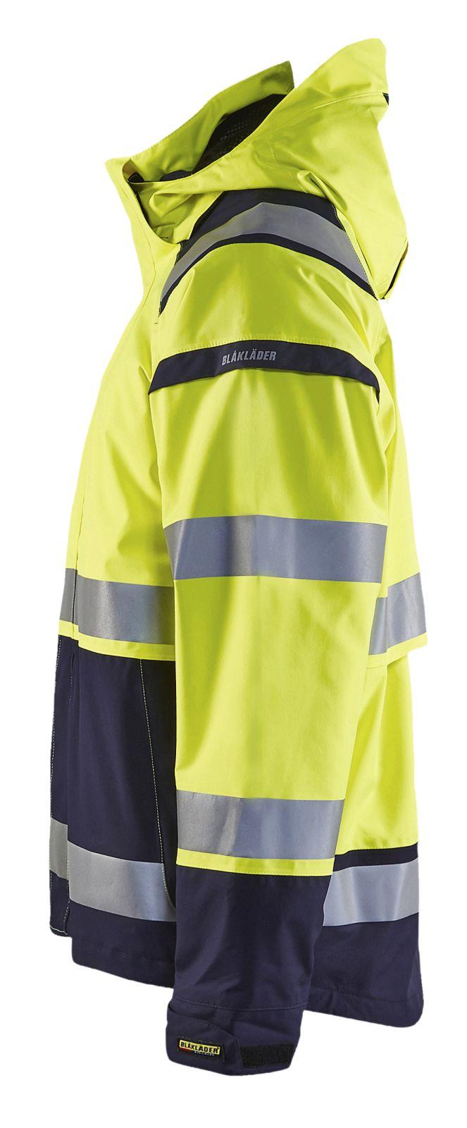 Blaklader Jassen 49871987 High Vis fluo geel-marineblauw(3389)