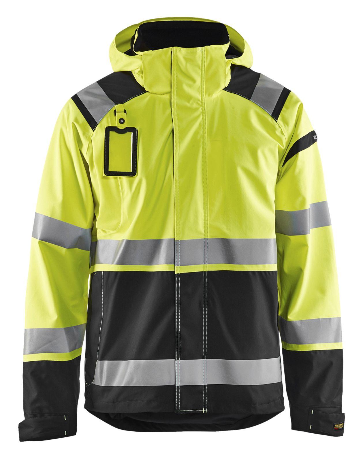 Blaklader Regenjacks 49871987 High Vis geel-zwart(3399)