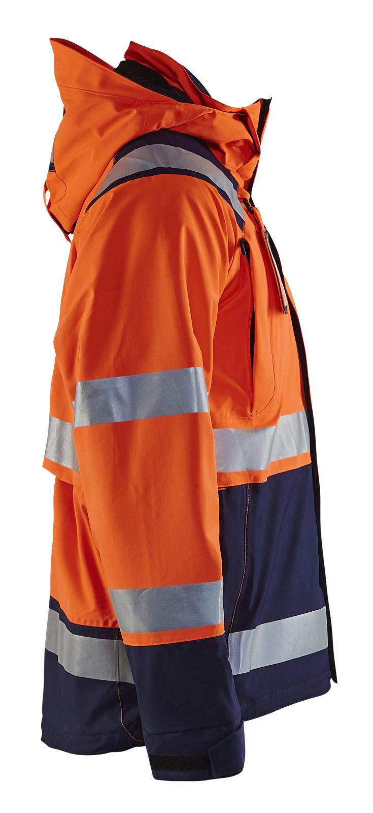 Blaklader Jassen 49871987 High Vis fluo oranje-marineblauw(5389)