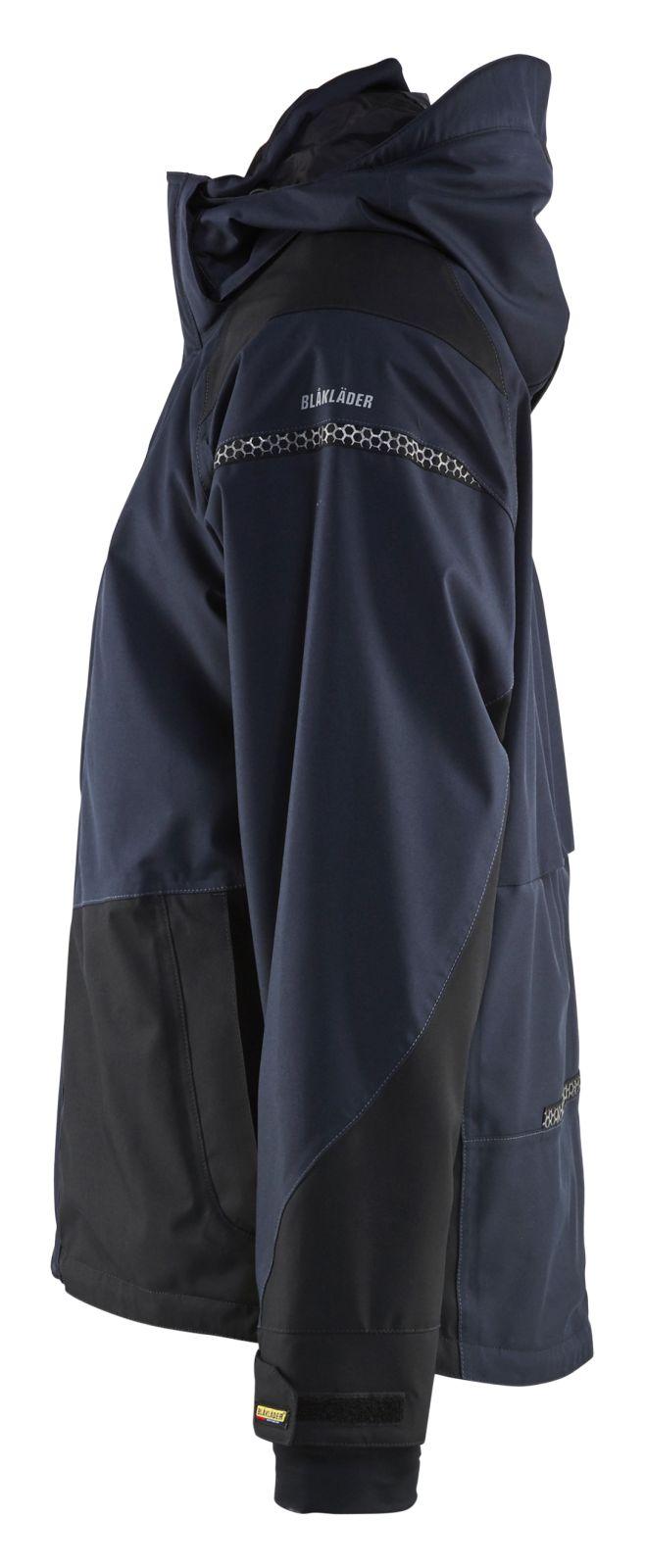 Blaklader Regenjacks 49881987 Stretch donker marineblauw-zwart(8699)
