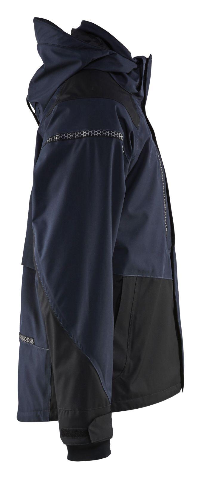 Blaklader Jassen 49881987 Stretch donker marineblauw-zwart(8699)