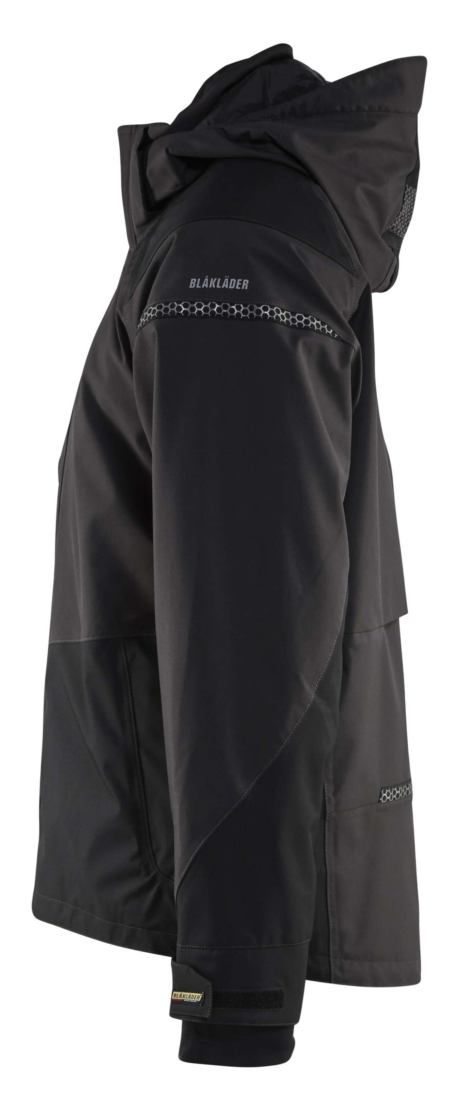 Blaklader Regenjacks 49881987 Stretch donkergrijs-zwart(9899)