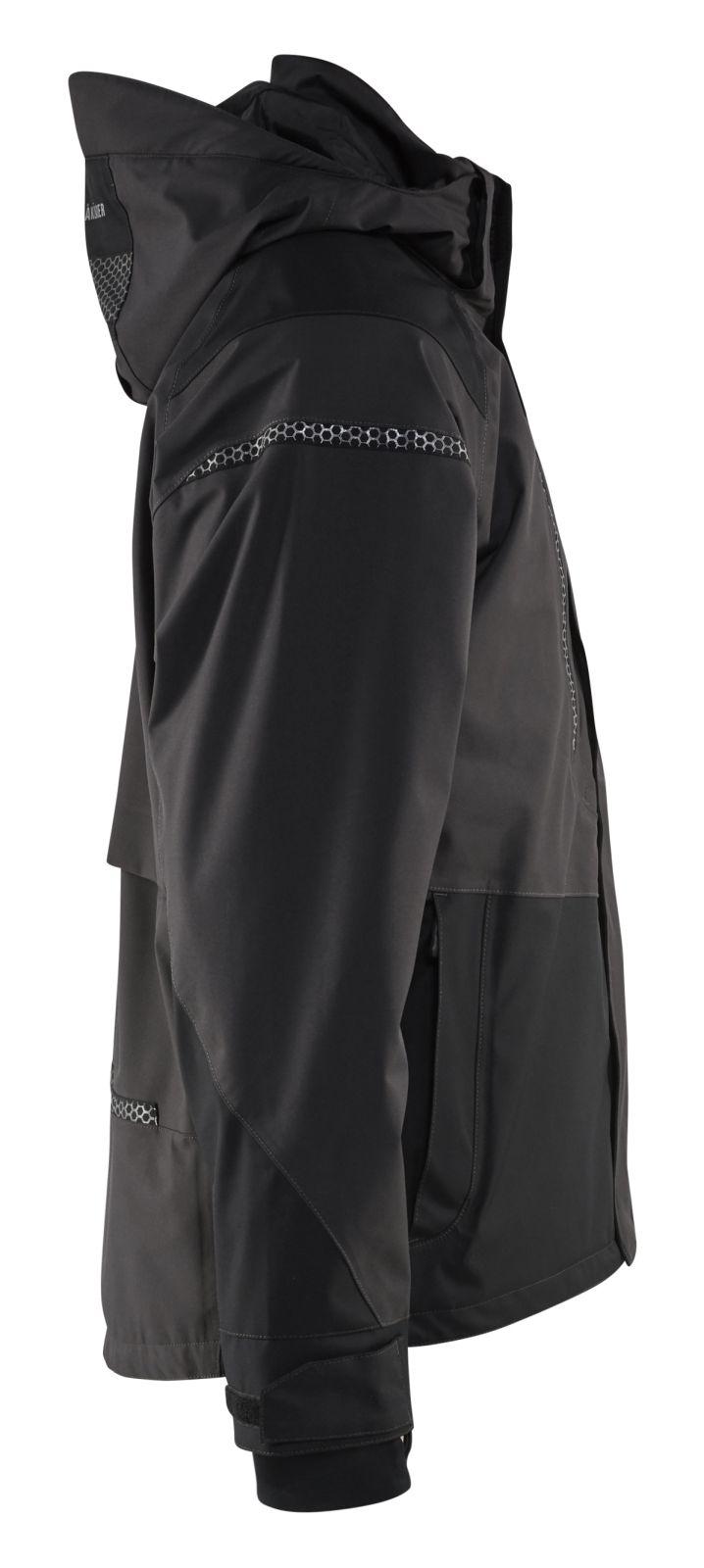 Blaklader Jassen 49881987 Stretch donkergrijs-zwart(9899)