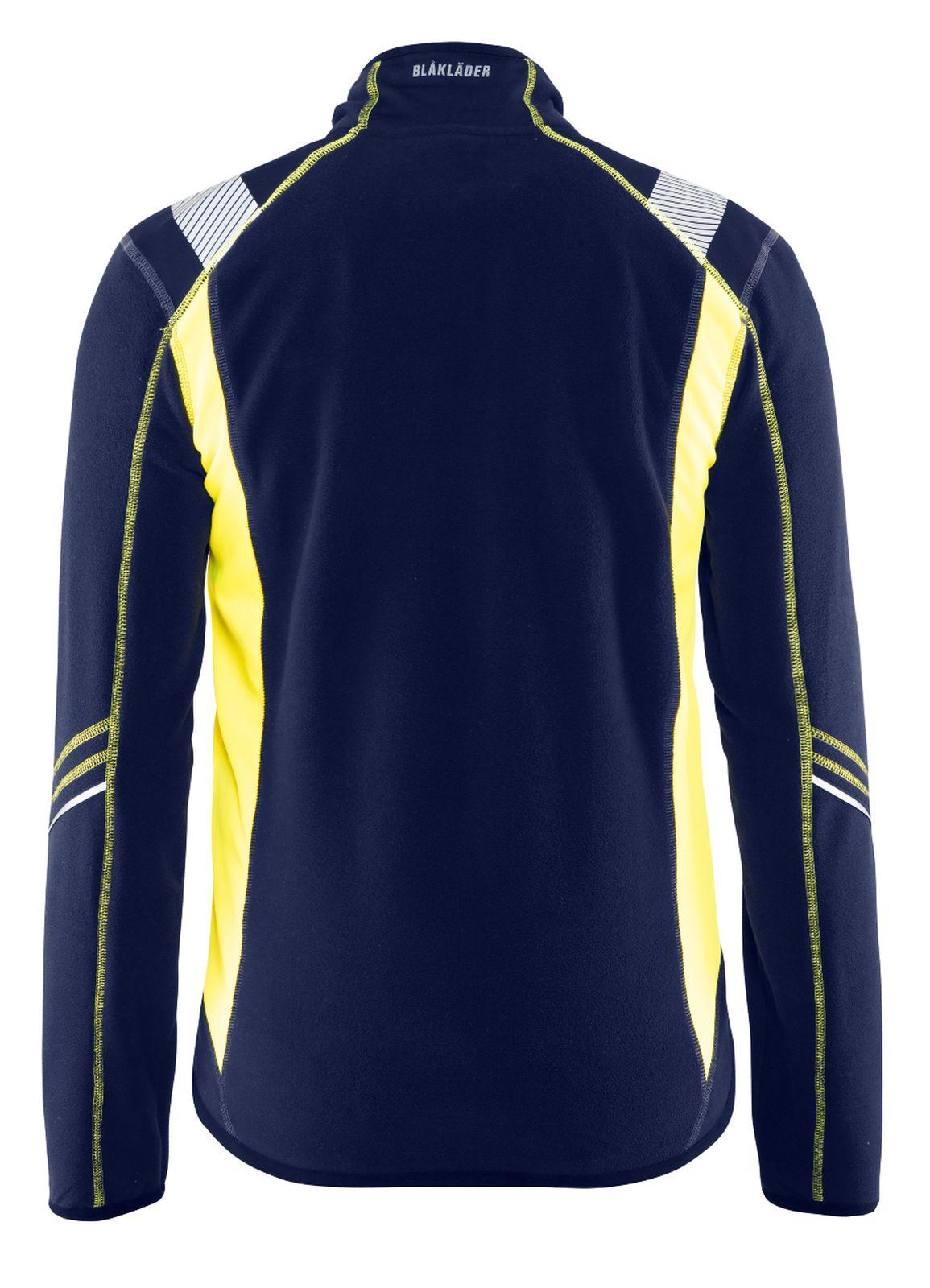 Blaklader Vesten 49931010 marineblauw-geel(8933)