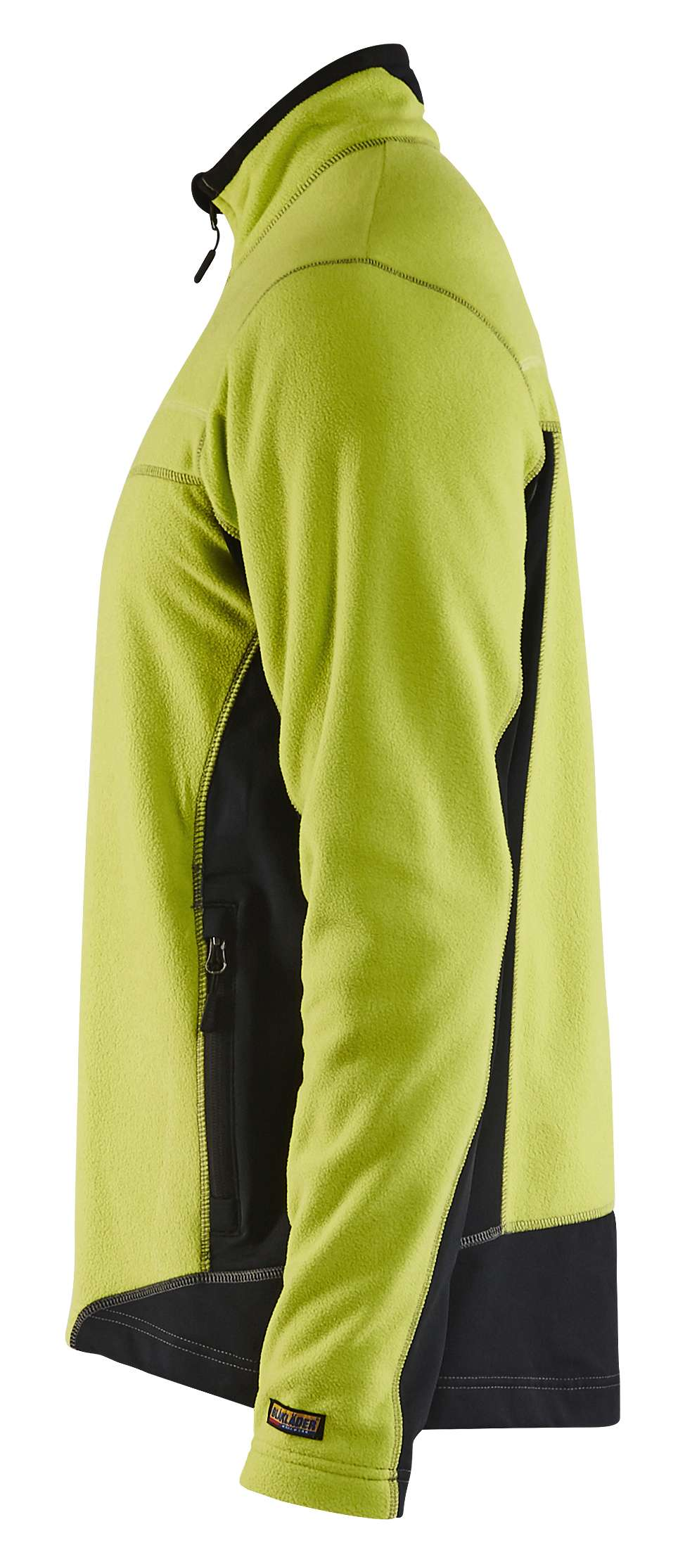 Blaklader Fleece vesten 49971010 lime-zwart(4399)
