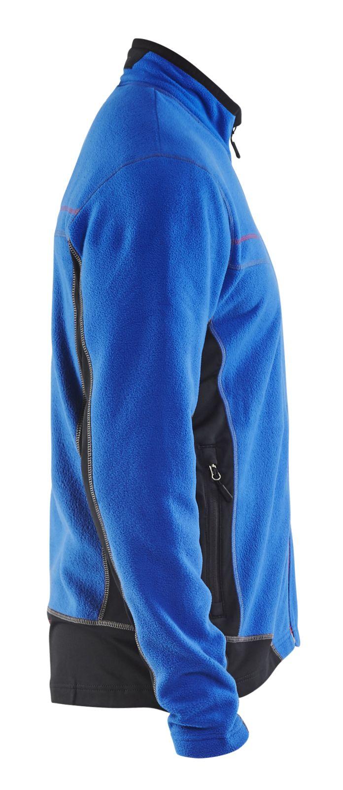 Blaklader Fleece vesten 49971010 korenblauw-zwart(8599)