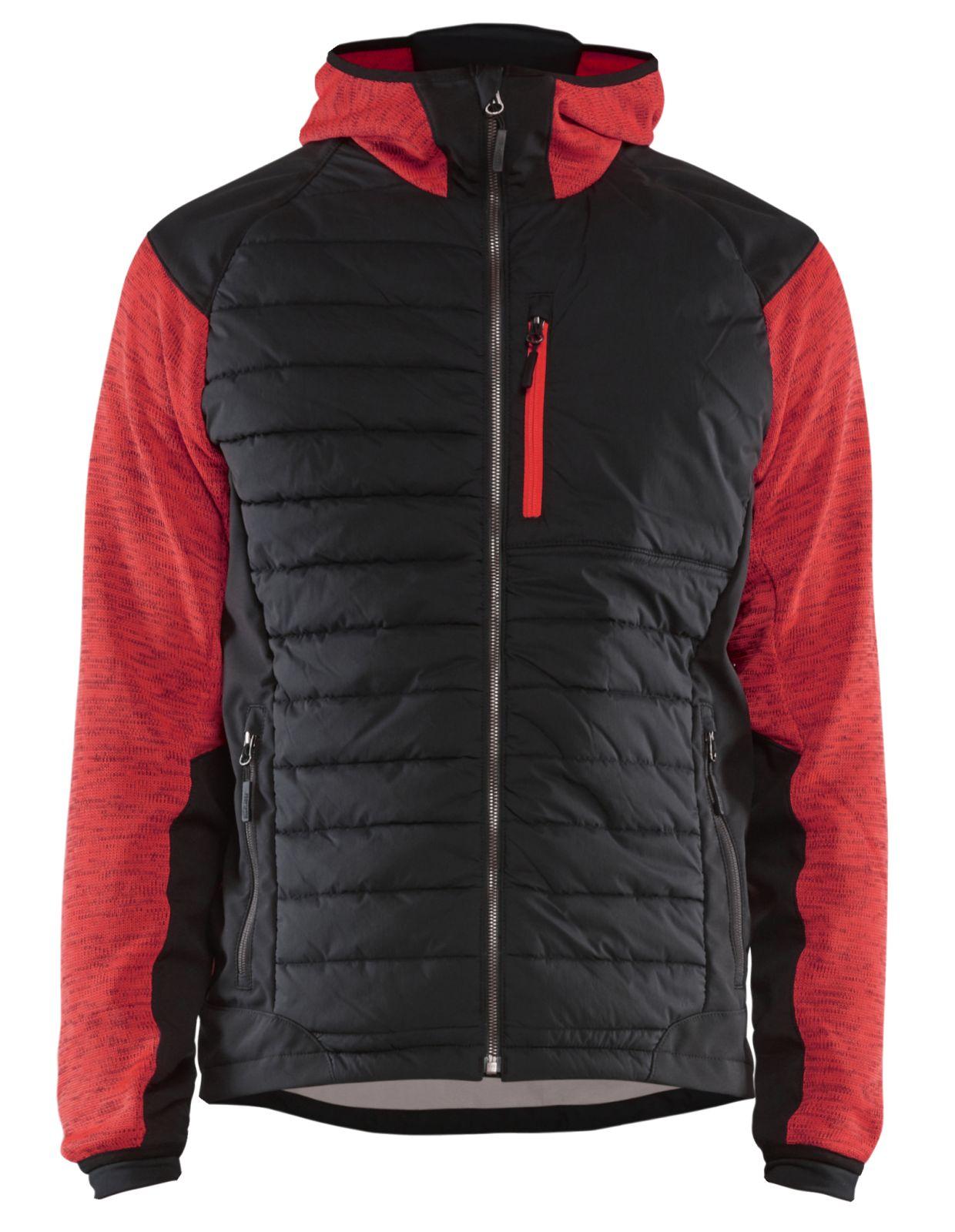 Blaklader Jassen 59302117 rood-zwart(5699)