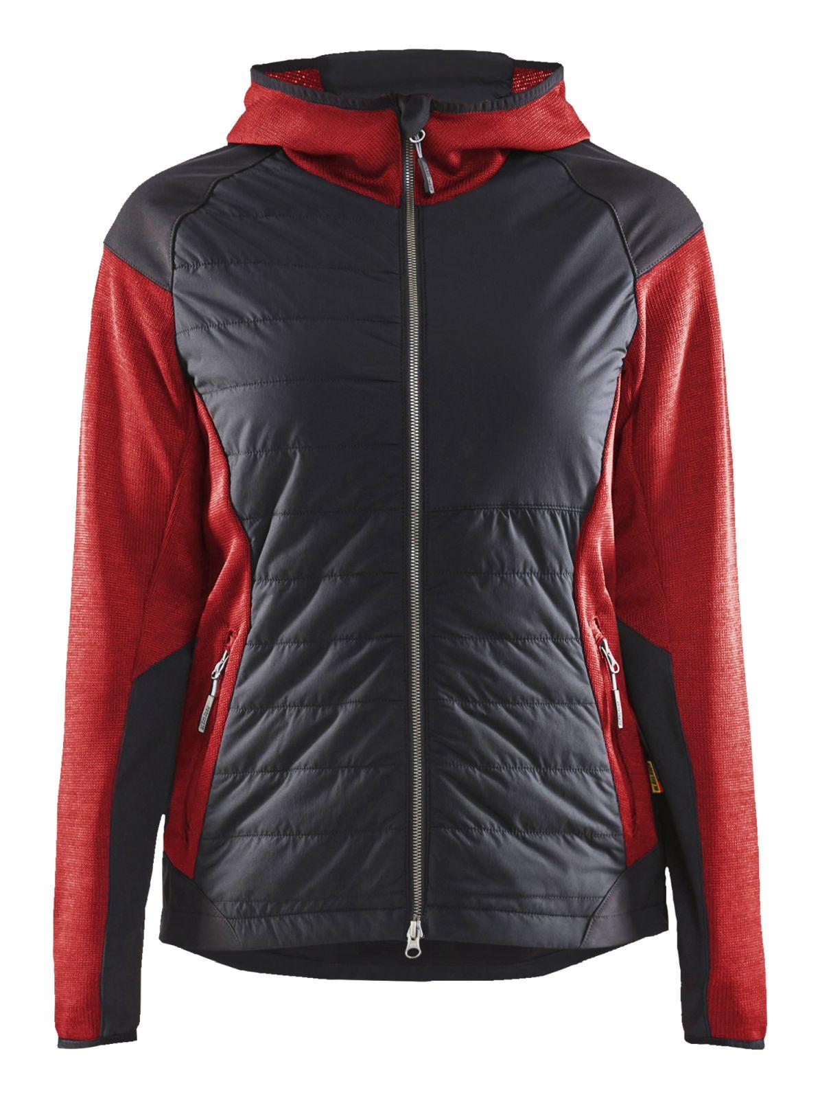 Blaklader Jassen 59312117 rood-zwart(5699)