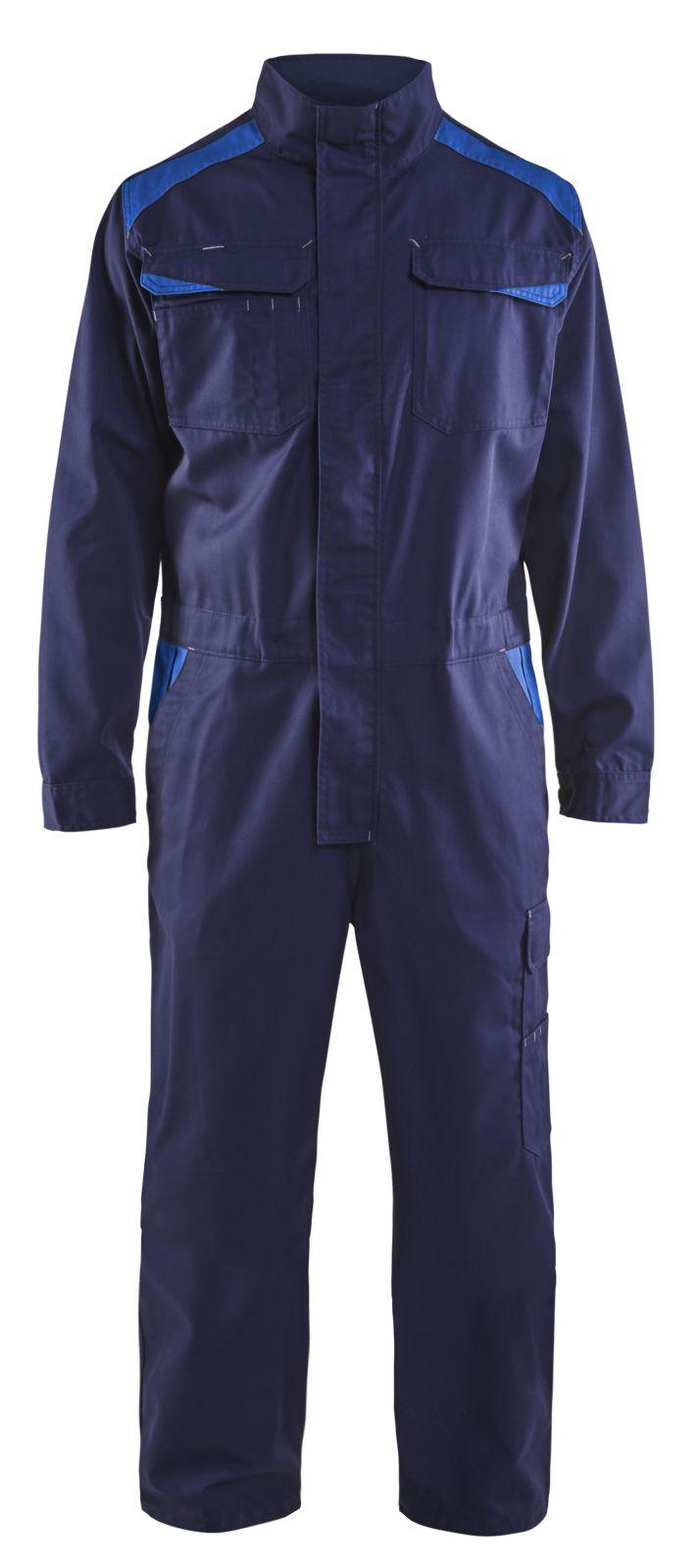Blaklader Overalls 60541210 marineblauw-korenblauw(8884)