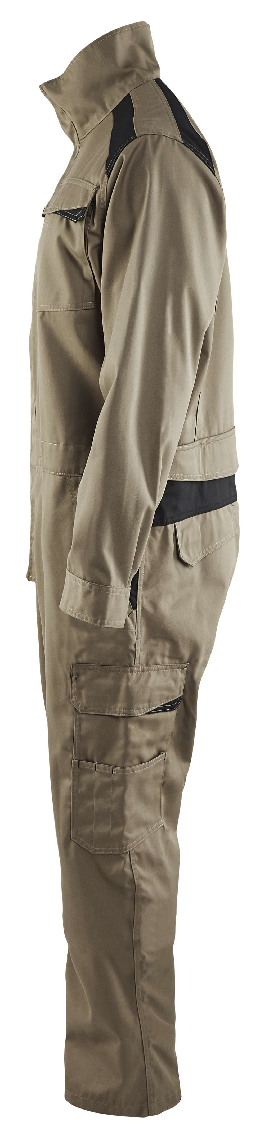 Blaklader Overalls 60541800 khaki-zwart(2499)