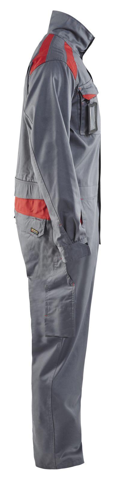Blaklader Overalls 60541800 grijs-rood(9456)