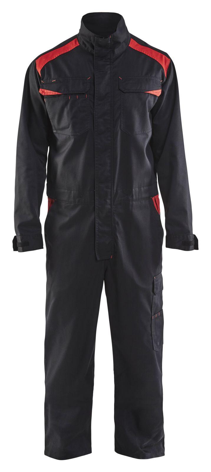 Blaklader Overalls 60541800 zwart-rood(9956)