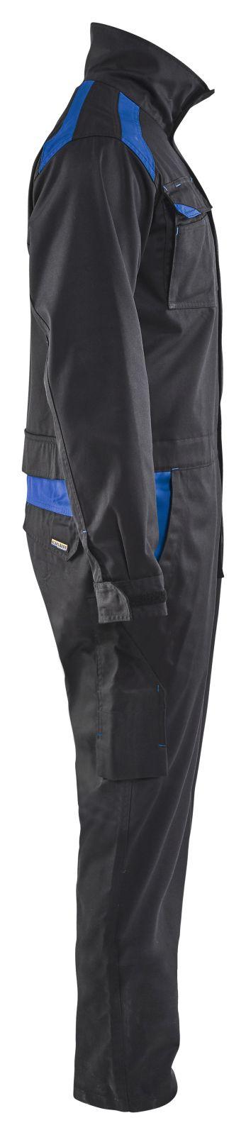 Blaklader Overalls 60541800 zwart-korenblauw(9985)