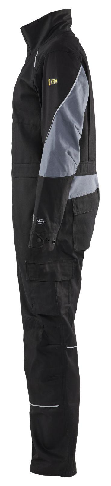 Blaklader Overalls 60611516 Vlamvertragend zwart-grijs(9994)