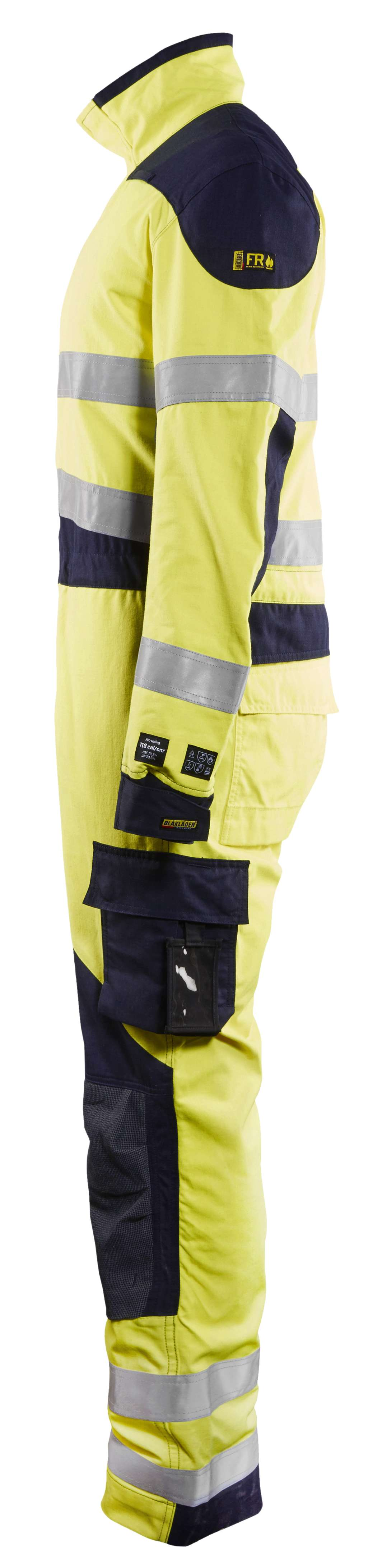 Blaklader Overalls 60891512 Multinorm geel-marineblauw(3389)