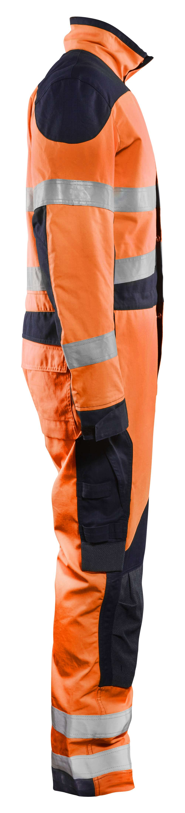 Blaklader Overalls 60891513 Multinorm fluo oranje-marineblauw(5389)