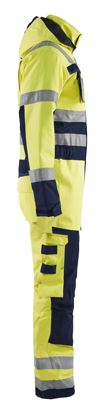 Blaklader Overalls 63681530 Multinorm geel-marineblauw(3389)