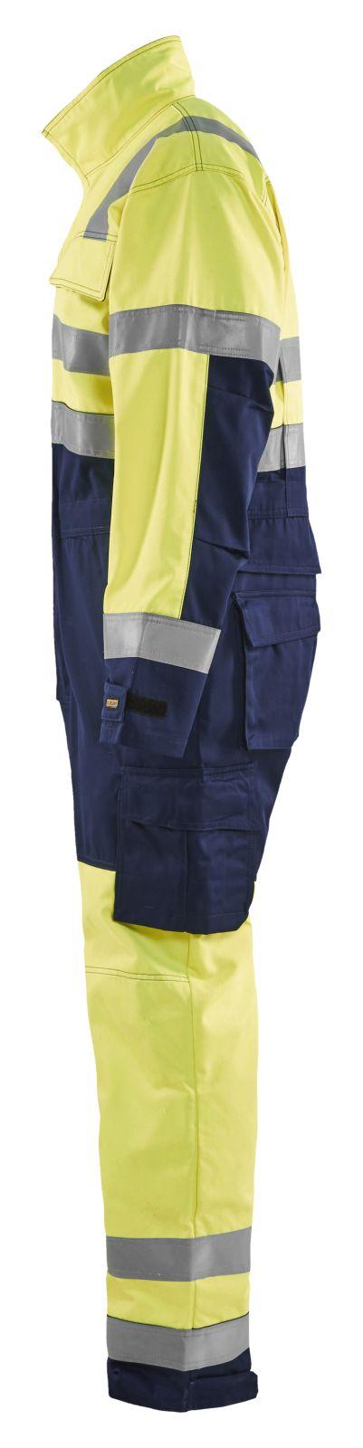 Blaklader Overalls 63731804 High Vis geel-marineblauw(3389)