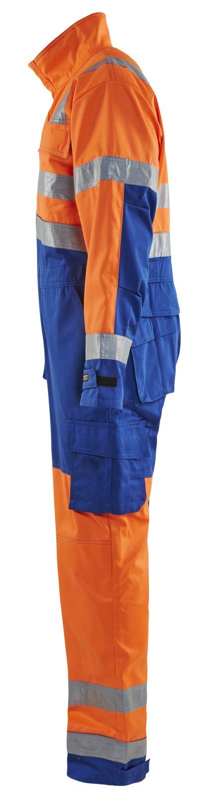 Blaklader Overalls 63731804 High Vis oranje-korenblauw(5385)