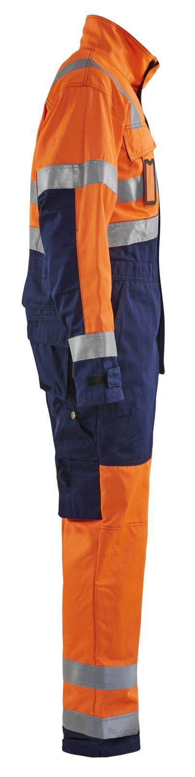 Blaklader Overalls 63731804 High Vis oranje-marineblauw(5389)