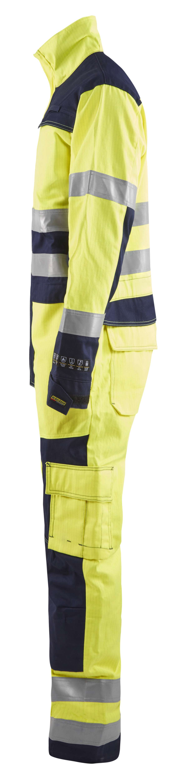 Blaklader Overalls 63781514 Multinorm geel-marineblauw(3389)