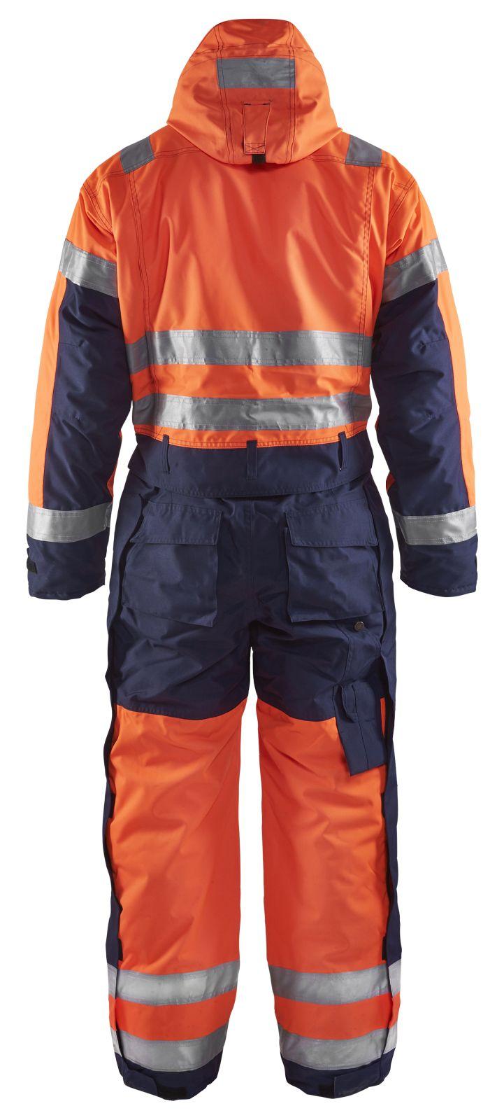 Blaklader Overalls 67631977 High Vis oranje-marineblauw(5389)
