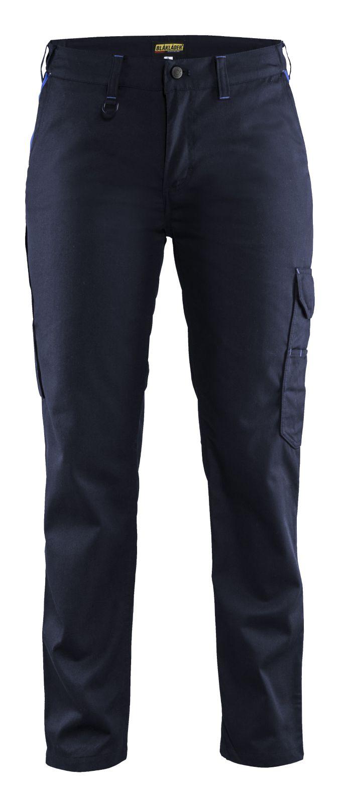 Blaklader Dames werkbroeken 71041800 marineblauw-korenblauw(8985)