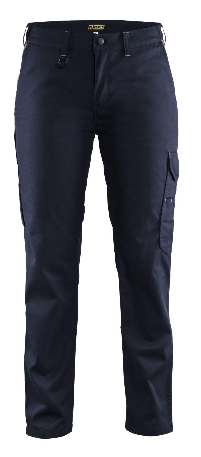 Blaklader Dames werkbroeken 71041800 marineblauw-grijs(8994)