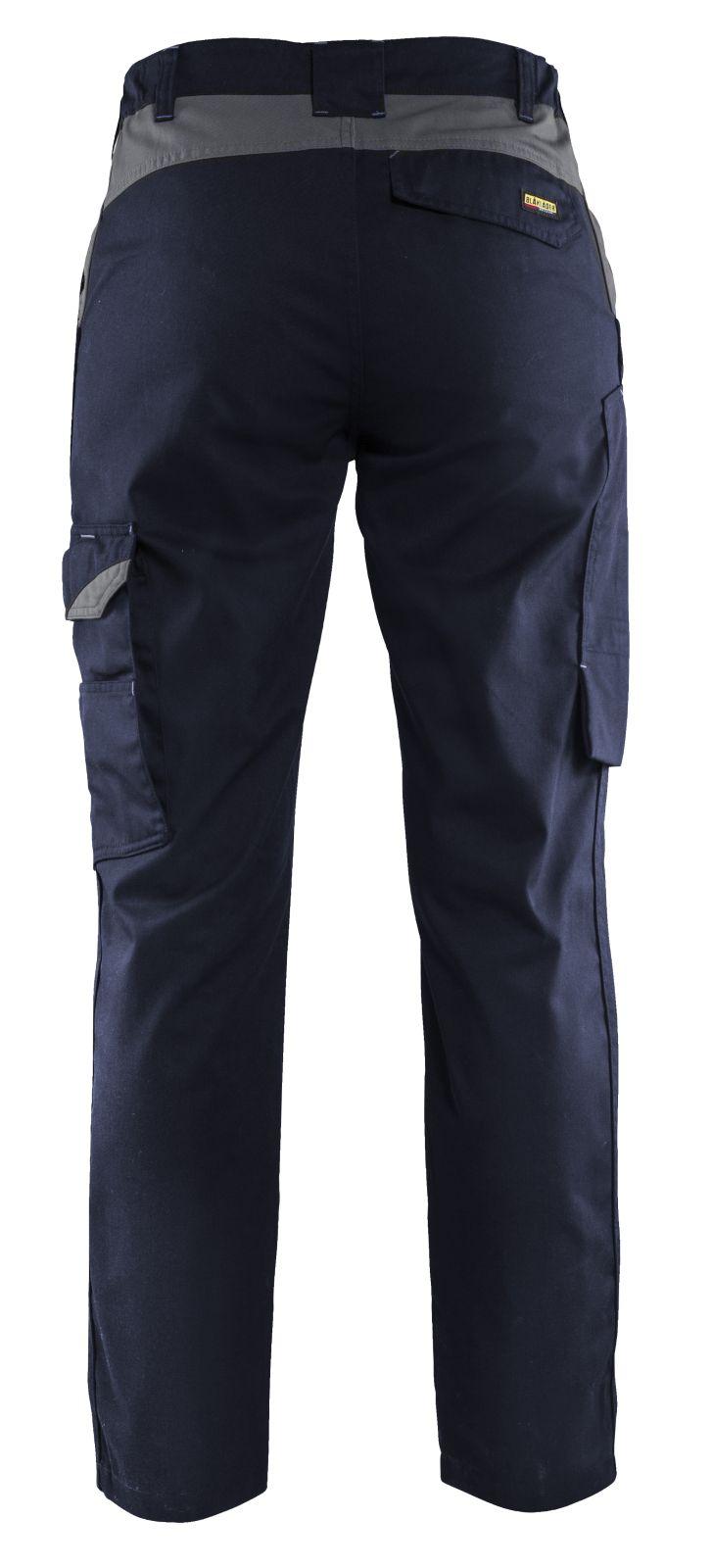 Blaklader Broeken 71041800 marineblauw-grijs(8994)