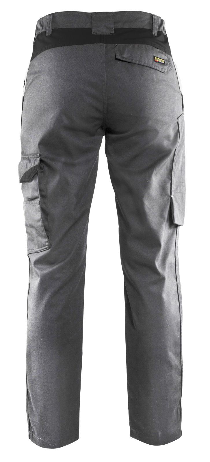 Blaklader Dames werkbroeken 71041800 grijs-zwart(9499)