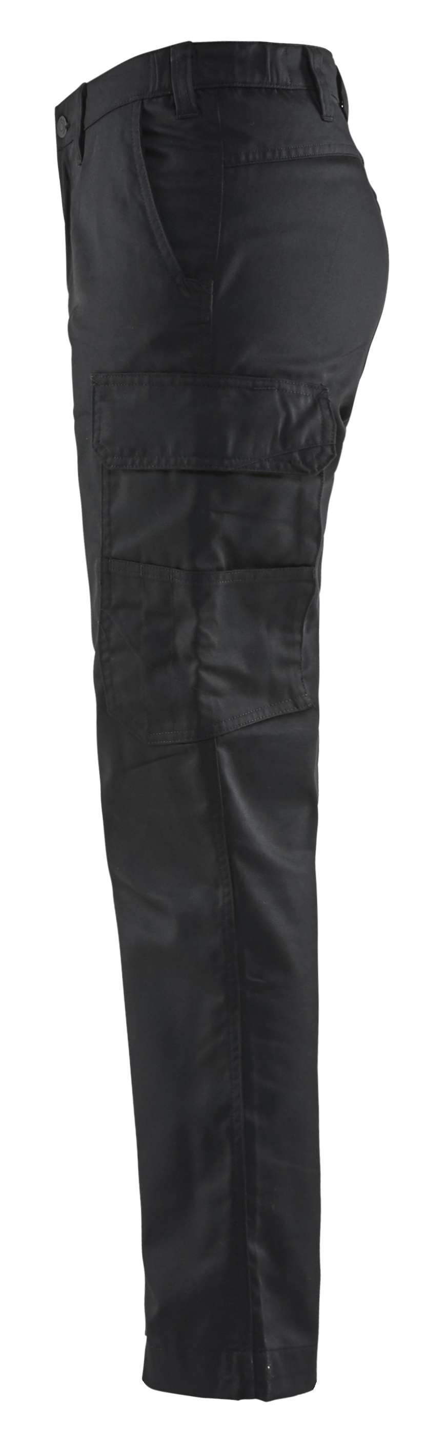Blaklader Dames werkbroeken 71041800 zwart(9900)
