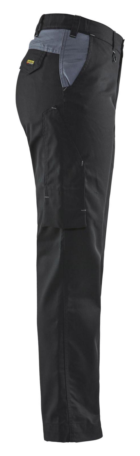 Blaklader Dames werkbroeken 71041800 zwart-grijs(9994)