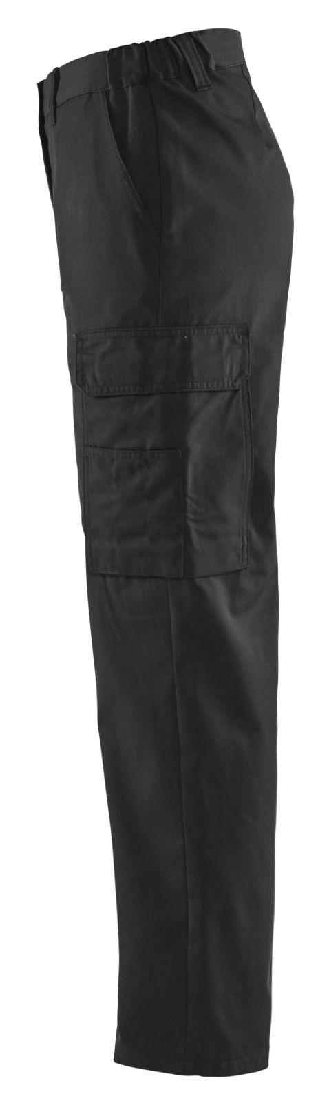 Blaklader Dames werkbroeken 71201800 zwart(9900)