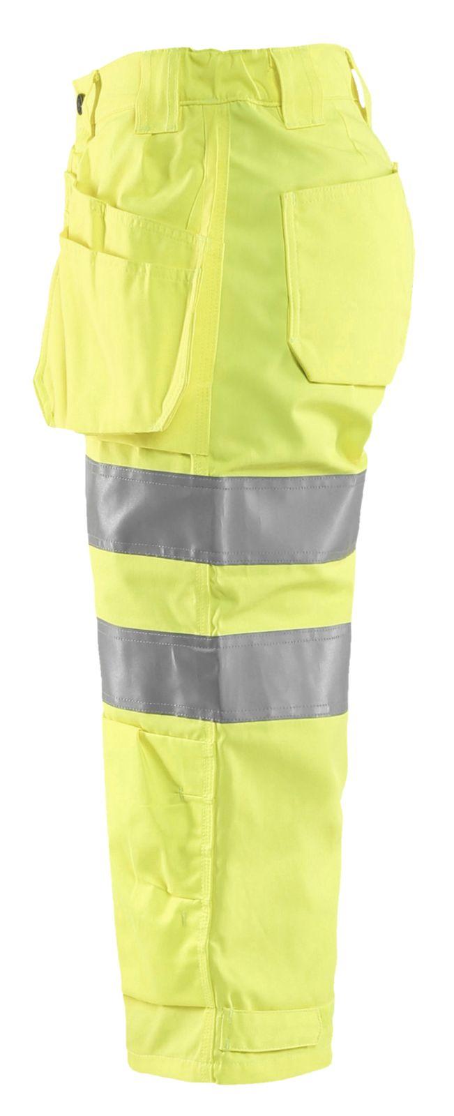 Blaklader Dames piraatbroeken 71391811 High Vis geel(3300)