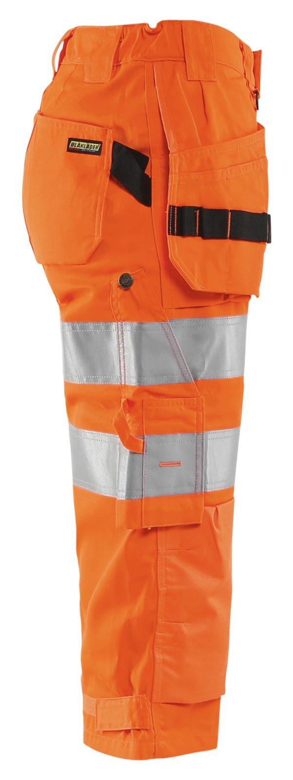 Blaklader Dames piraatbroeken 71391811 High Vis oranje(5300)