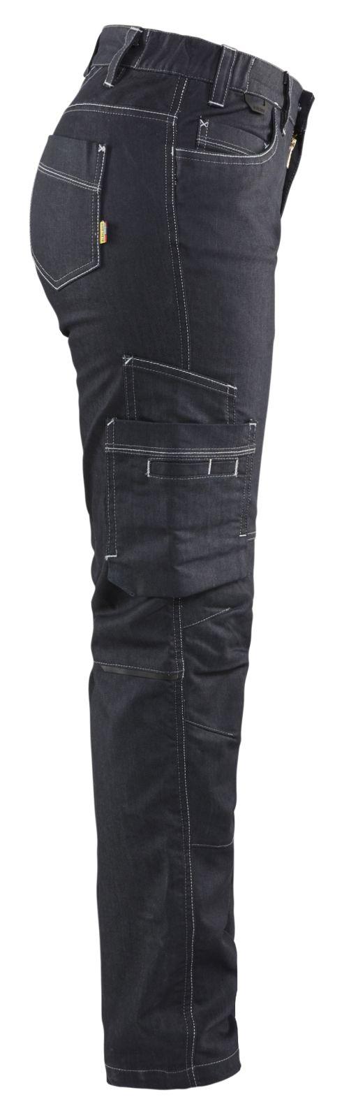 Blaklader Dames werkbroeken 71401141 Stretch marineblauw(8900)