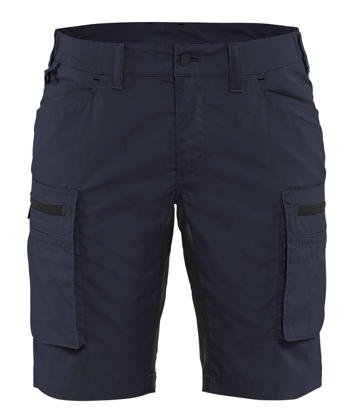 Blaklader Korte dames werkbroeken 71491845 donker marineblauw-zwart(8699)