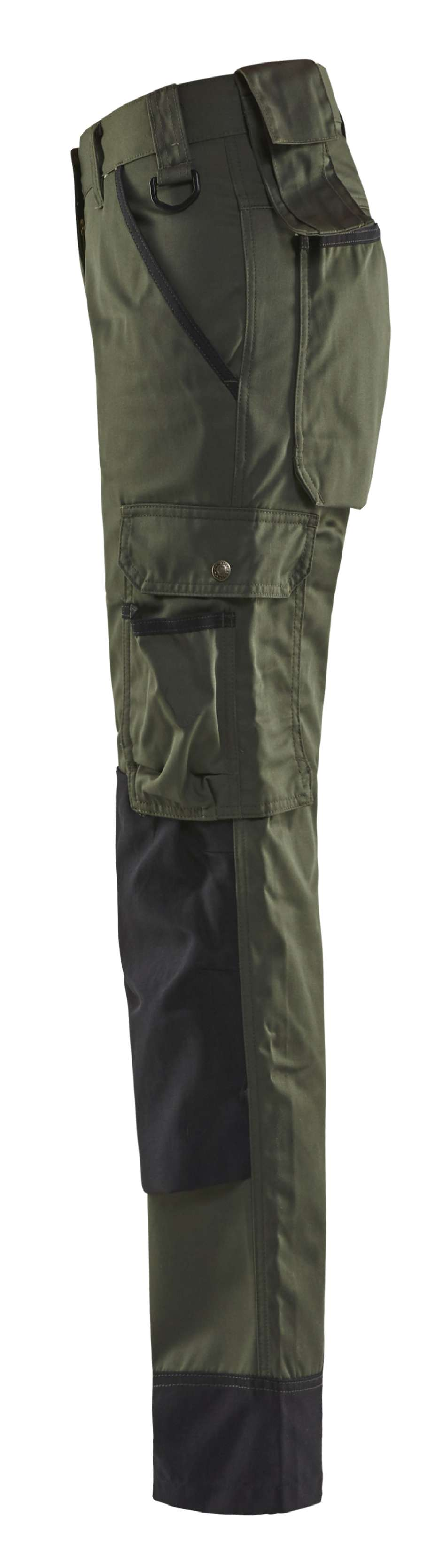 Blaklader Broeken 71541835 army groen-zwart(4699)
