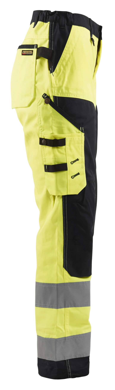 Blaklader Dames werkbroeken 71551811 High Vis geel-zwart(3399)
