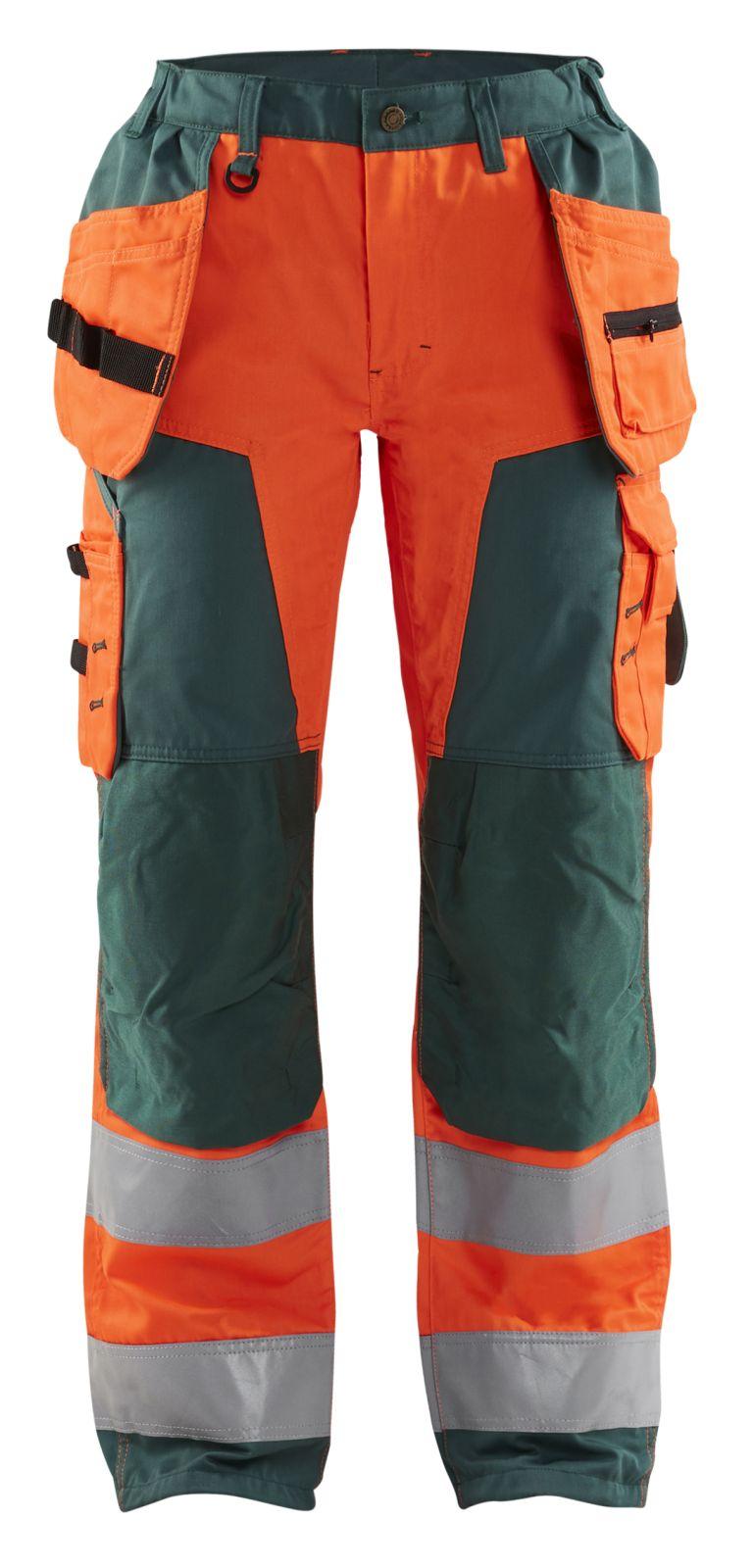 Blaklader Broeken 71561811 High Vis fluo oranje-groen(5349)