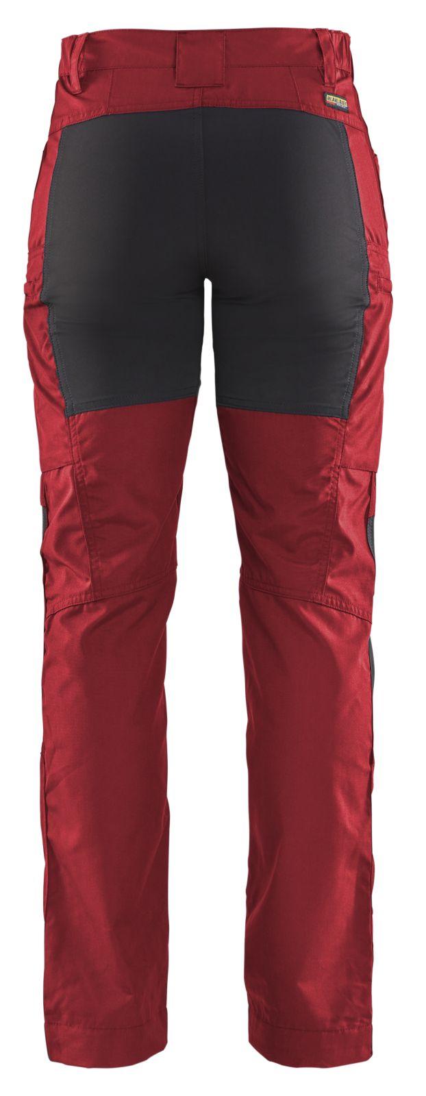 Blaklader Broeken 71591845 rood-zwart(5699)