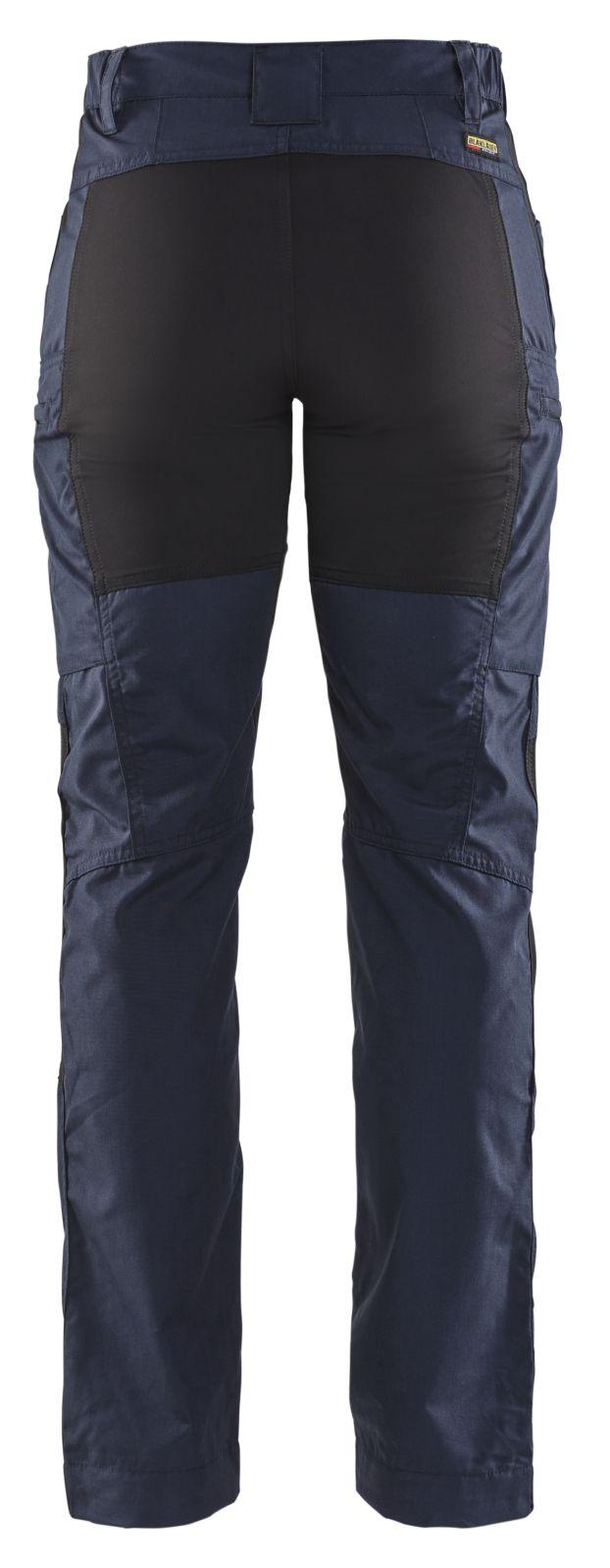 Blaklader Dames werkbroeken 71591845 donker marineblauw-zwart(8699)