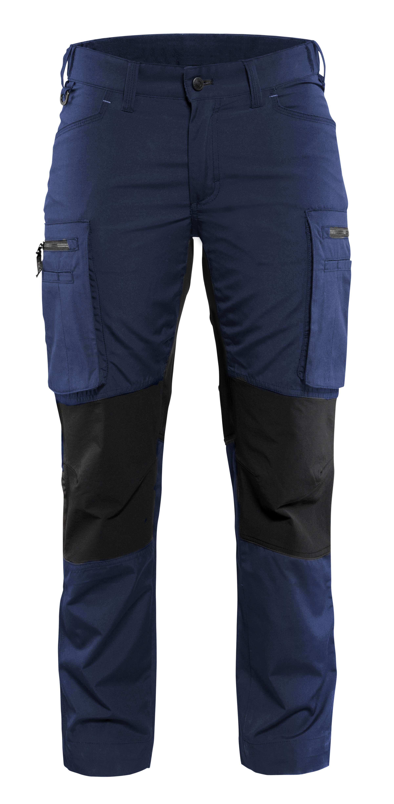 Blaklader Dames werkbroeken 71591845 marineblauw-zwart(8999)