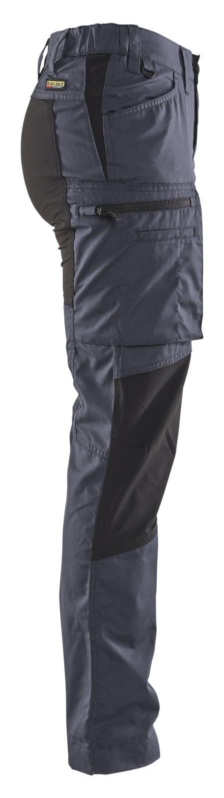 Blaklader Dames werkbroeken 71591845 grijs-zwart(9499)