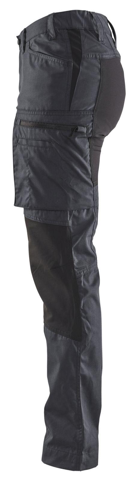 Blaklader Dames werkbroeken 71591845 donkergrijs-zwart(9899)