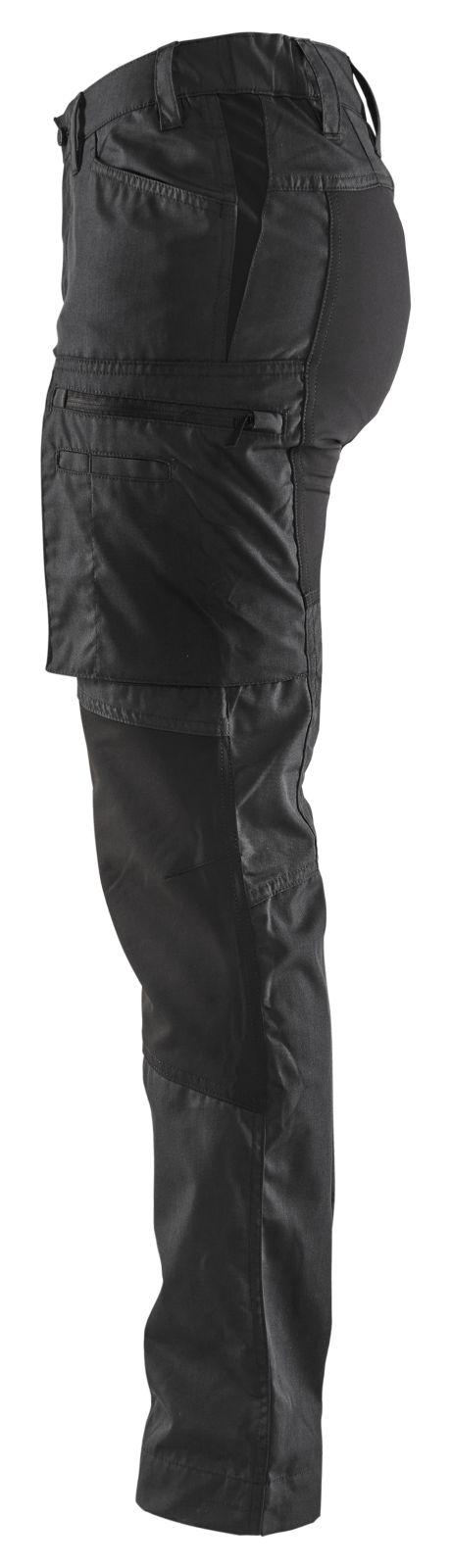 Blaklader Dames werkbroeken 71591845 zwart(9900)